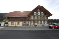 Das alte Pächterhaus auf Heiligkreuz. (Bild: Manuela Jans-Koch/Neue LZ)