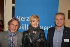 Urs Pfenninger, Alexandra Müller und Roland Huwiler (von links) von der Amag Retail.