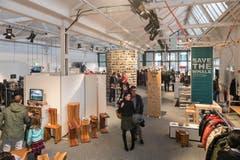An 21 Ausstellungsplätze fanden sich besondere Designer-Stücke. (Bild: Christian H.Hildebrand, Neue ZZ)