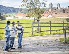 Aber auch im Kloster Einsiedeln im Kanton waren schon Asylbewerber untergebracht. (Bild: PD)