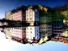Spieglein, Spieglein: Luzern ist doch die schönste Stadt. (Bild: Walter Buholzer)