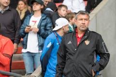 Basel-Trainer Urs Fischer (Bild: Keystone / Urs Flüeler)