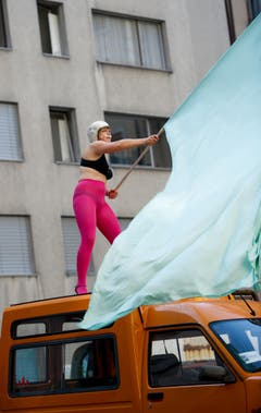 Kleintheater Luzern feiert sein Eröffnungsfest. Rundgang fotografiert am 06. September 2014. (Bild: Corinne Glanzmann)