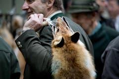 Neben dem grossen Markt fand auch eine Tombola und der Auftritt der Jagdhornbläser statt. (Bild: Pius Amrein (Neue LZ))
