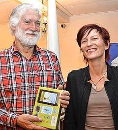 Mario Korell und Caroline Faes. (Bild: Claudia Surek)