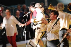 Das Aliev Bleh Orchester (immigrierte Volksmusik aus dem Balkan). (Bild: Urs Hanhart / Neue UZ)
