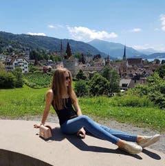 In Zug, Aussichtsplatz Guggi: #Zug#Switzerland (Bild: sayapina_d / Russland)