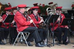 Die Musikgesellschaft Engelberg umrahmt die 1.-August-Feier musikalisch. (Bild: Roger Zbinden)