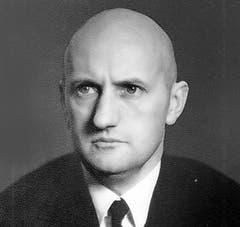 Philipp Etter (CVP), Kanton Zug, Im Bundesrat von 1934 - 1959. (Bild: Archiv Neue LZ)