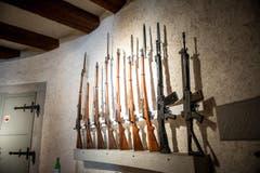 ... und eine Waffensammlung. (Bild: Roger Gruetter / Neue LZ)