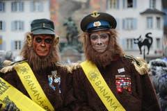 Bananen-Fans. (Bild: Urs Hanhart (Neue UZ))
