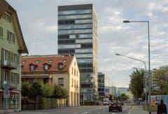 Hochhaus B125, Zug - Architekten Philipp Brühwiler und Konrad Hürlimann, 2014. (Bild: Baudirektion Kanton Zug)