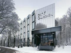 Hotel City Garden, Zug (Metallstrasse 20) - EM2N Architekten 2009. (Bild: Baudirektion Kanton Zug)