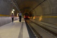 Im neuen Gotthard-Basistunnel wird man in Zukunft nur noch im Notfall aussteigen können. (Bild: Antonio Russo)