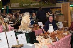 Auch Marktsteller bieten am Fäälimärt ihre Spezialitäten an. (Bild: Ramona Meyer-Stöckli)
