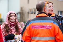 Einige Impressionen vom Fasnachtsumzug in Rotkreuz. (Bild: Patrick Hürlimann (Neue Zuger Zeitung))