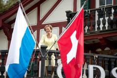 Hanny Buholzer, die Gastgeberin im Old Swiss House in Luzern, wird 80-jährig. (Bild: Eveline Beerkircher / Neue LZ)