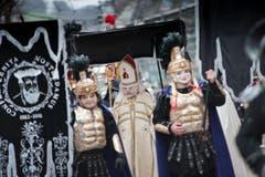"""Fritschi Umzug am Schmutzigen Donnerstag in der Stadt Luzern. Auf dem Bild zu sehen ist die Gruppe """"Nostradamus"""". Das Bild entstand am Donnerstag, 4. Februar 2016. (Bild: Pius Amrein (Neue LZ))"""