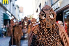 Einige Impressionen des Umzugs der Kultur Ur-Fastnächtler. (Bild: Roger Gruetter)