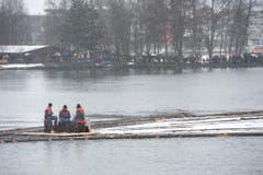 Flössen Ägerisee (Bild: Maria Schmid / Neue ZZ)
