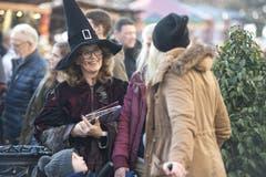 Selbstverständlich waren auch Hexen anwesend. (Bild: Maria Schmid / Neue ZZ)