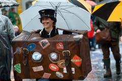 Zunft Heini von Uri, mit dem Motto Orient Express. (Bild: Boris Bürgisser / Neue LZ)