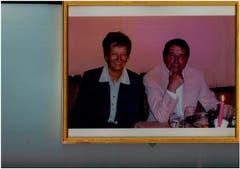 Zu Ihren Gästen zählte Udo Jürgens ... (Bild: Aus dem Archiv von Hanny Buholzer)