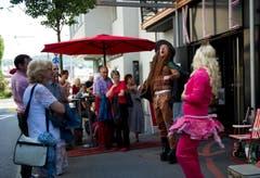 Das Kleintheater Luzern feiert sein Eröffnungsfest. (Bild: Corinne Glanzmann)