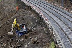 Die Bahnstrecke ist frei. (Bild: Keystone)