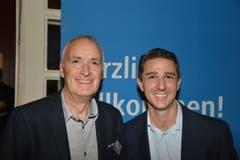 Von links: Willy Koch und Roger Waser, Swisscom AG.