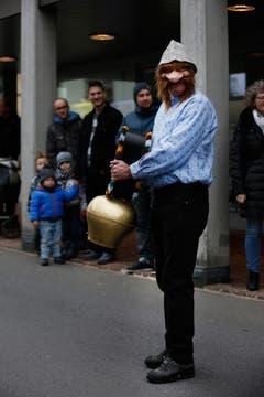 Einige Impressionen vom inoffiziellen Fasnachtsumzug Cham, beim Rigiplatz. (Bild: Patrick Hürlimann (Neue Zuger Zeitung))