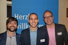 Die Genossenschaft Migros Luzern war vertreten durch Adrian Zumbühl, Flavio Weber und Dominik Haltiner (von links).