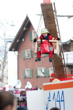 Kinderfasnacht Unterägeri (Bild: Maria Schmid)