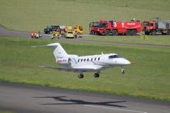 Der PC-24 beim ersten Start. (Bild: Pilatus Aircraft Ltd)