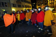 «Füür und Flamme» singen fürSandra Häfeli und Michael Häfeli. (Bild: Werner Schelbert / Neue ZZ)