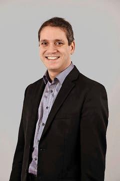 Pascal Blöchlinger SVP 1977 Projektmanager seit 2012 (Bild: zvg)