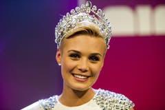 Die neue Miss Schweiz: Dominique Rinderknecht. (Bild: Keystone)