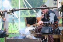 Zu sehen gibt es auch alte Handwerke. (Bild: Maria Schmid / Neue ZZ)