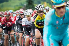 Cancellara unterwegs. (Bild: Keystone / Gian Ehrenzeller)