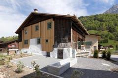 Die Renovation der Stüssihofstatt in Unterschächen fand in enger Zusammenarbeit mit der Denkmalpflege des Kantons Uri statt. (Bild: Schweizer Heimatschutz / Ferien im Baudenkmal)