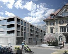 «Teiggi mit Gemeindehaus» (Bild: PD)