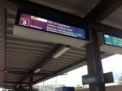 Auf der Nord-Süd-Achse fahren bis auf weiteres nur Busse. (Bild: Ronny Nicolussi / NZZ)