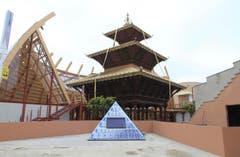 Der Pavillion von Nepal in der Aussenansicht. (Bild: STEFANO PORTA)