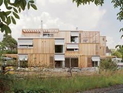 Dreifamilienhaus, Cham (Nestléstrasse), Osterhage Riesen Architekten GmbH 2014 (Bild: Baudirektion Kanton Zug)