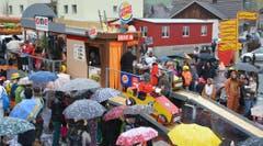 Spootzünder Chliwangen mit dem Motto Fit met Fast Food. (Bild: PD)