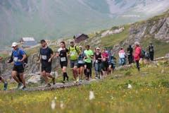 Insgesamt 44 Kilometer lang war der Marathon. (Bild: Roger Zbinden (Neue LZ))