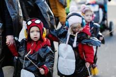 Einige Impressionen vom Kinderumzug in Rotkreuz. (Bild: Stefan Kaiser (Neue ZZ))
