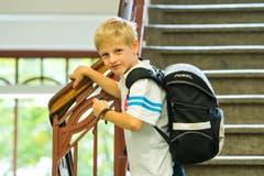 Maximilian Huber (6): «Ich habe ein Hufeisen als Glücksbringer dabei. Mein Grossvater hat es mir geschenkt.» (Bild: Dominik Wunderli (Neue LZ))