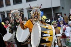Indianer. (Bild: Urs Hanhart (Neue UZ))