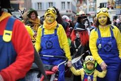 Auch die Minions waren in Altdorf unterwegs. (Bild: Urs Hanhart (Neue UZ))
